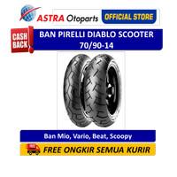Pirelli Diablo Scooter 70/90-14M/CTL 34S DScooF (Depan) (2581600)