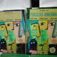 sepaket Psikologi abnormal edisi 5 jilid 1dan 2 by Jeffrey S. nevid