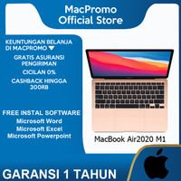 Apple Macbook Air 2020 M1 Chip 13 inch 256GB Touch ID Grey Silver Gold