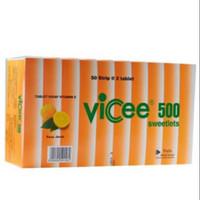 VICEE SWEETLETS 500 MG RASA JERUK ISI 50'S / VICEE JERUK