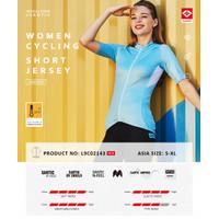 Santic Jersey Sepeda :ipat Roadbike MTB Vence Women Wanita L9C02143