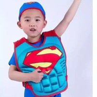 Pelampung Ban Renang Anak Superhero 3D - Swim Vest Rompi Superhero Kid - LOVE SPARKLE, All Size