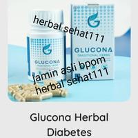 Glucona herbal diabetes 100% asli bpom