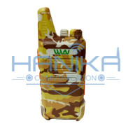 Satuan WLN KD-C1 HT UHF Cokelat Loreng Walkie Talkie WLAN KDC1 Coklat