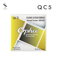 Senar Gitar Orphee QC5 Nylon Klasik Classic Guitar Normal Tension