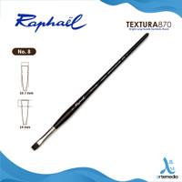 Kuas Lukis Raphael 870 Bright Textura Synthetic Brush Long Handle