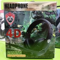 HEADSET GAMING 4D PGM+010 SURROUND SOUND HEADPHONE PGM-010 jack single