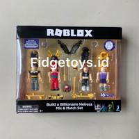 Roblox Celebrity Collection - Build a Billionaire Heiress Four Figure
