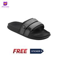 Sandal Pria Slide Footstep Footwear - Mono Grey