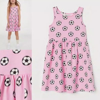 dress anak baby lucu adem H&M original branded