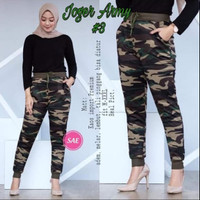 celana jogger wanita army/celana legging wanita/celana senam import