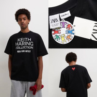 ZARA x Keith Haring Print Tshirt - ORIGINAL