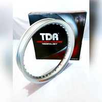 Velg Tdr U Shape 250 Ring 17 Silver Black