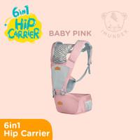 6-in-1 Premium Gendongan Baby Hip Carrier IMUNDEX + Hipseat