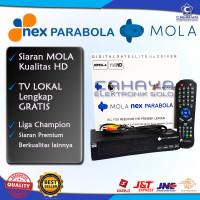 Receiver MOLA Nex Parabola Liga Champion SCTV Indosiar Emtek C Ku