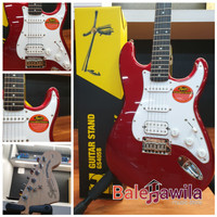 Guitar Gitar Elektrik Squier by Fender Stratocaster Standard OriPabrik