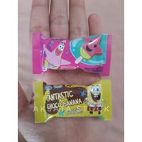 Gantungan kunci miniatur snack + KEMASAN LUCU