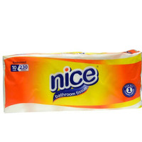 Tissue Nice Bathroom Embossed Toilet / 10 Roll 238 Sheet