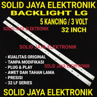 LAMPU BACKLIGHT TV LG 32 IN 32LF520 32LF520A 32LF 520 520A 5K 3V