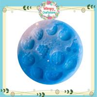 Silicone Mold Buah Cetakan Resin Kue Clay Sabun Fondant Pudding Wimpy