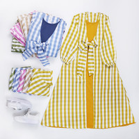 MINISALE - Baju Gamis Fashion / Tunik Balita Anak Perempuan Cewek - J - Merah Muda, 3-4 tahun