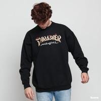 Thrxsher Magazine Calligraphy Crewneck ThrasherMag Sweatshirt Sweater