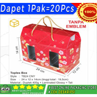 Box Toples Kue Kering Packaging Imlek Sincia CNY Hampers | TB24 CNY