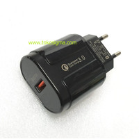 Charger USB Qualcomm Quick Charge QC 3.0 Fast Charge 18W 5V 3A 9V 12V