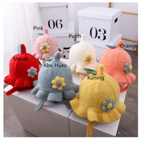 Topi Kupluk Bayi Motif Lucu- Topi Kupluk Anak Imut Dan Cantik