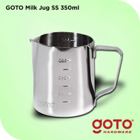Goto SS Milk Jug Frothing Pitcher Susu Barista Latte Stainless Steel