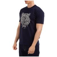 K ENZO Ikat Signature Tiger Shirt / KENZOTIGER Tshirt - ORIGINAL FO