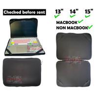 Softcase Laptop Sarung Laptop Hitam 11.6 12.5 13.3 14.6 15.6 Universal