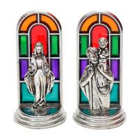 Aneka Pajangan Patung Kudus Rohani Mini Besi Jendela Roma 4cm Souvenir