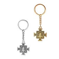 Gantungan Kunci Aksesoris Souvenir Rohani Kristen Katolik Benediktus