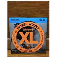 Senar gitar elektrik d addario daddario 010 EXL-110 original