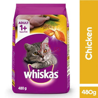 Makanan Kucing / Cat Food Whiskas Adult Chicken 480 Gram