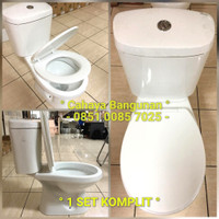 CLOSET Kloset Wc Duduk Set Toilet Komplit Murah Renovo bkn Toto Wasser