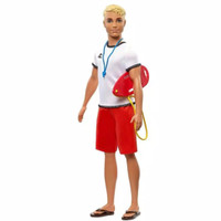 Barbie you can be anything Ken doll lifeguard original Mattel SALE