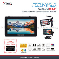 "Feelworld F5 5"" Full HD HDMI On-Camera Monitor With 4K"