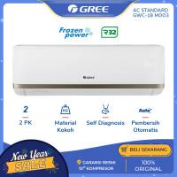 AC GREE MOO3 - STANDARD 2 PK - Putih