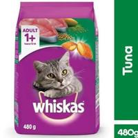 Makanan Kucing / Cat Food Whiskas Adult Tuna 480 Gram
