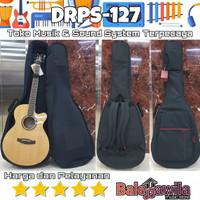 Tas Drcase Akustik Acoustic Guitar Black Premier Series DRPS-127
