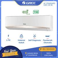 AC GREE GWC-09SE (Super-Eco) - STANDARD 0.9PK - White [INDOOR+OUTDOOR]