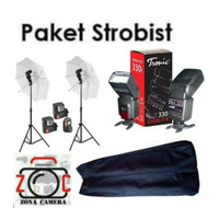 Paket Tronic Strobis Murah Meriah Flash Universal Studio Wedding Set