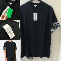 K ENZO Mens Sleeves Logo Tshirt / KENZOTIGER - ORI FO