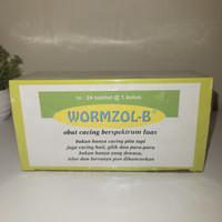 Wormzol-B dus (isi 24 sachet)