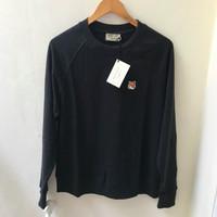 MAISONKITSUNE Fox Head Patch S/S Sweatshirt / M AISON KITSUNE Sweater