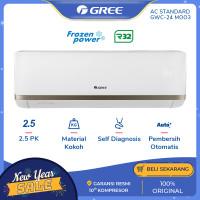 AC GREE GWC-24MOO3 - 2.5 PK STANDARD - Putih