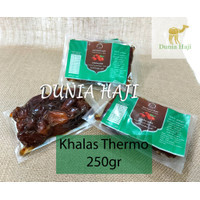 Kurma Khalas THERMO 250Gram Kurma Kholas Thermo Premium Dates