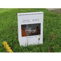 Kalender Meja Bali 2021